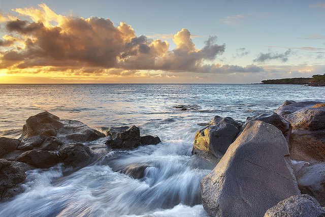 Kapaa and the Sea - Big Isnald, Hawaii