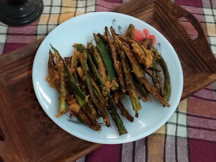 ಬೆಂಡೆಕಾಯಿ, ಕುರುಕಲು, okra, snack