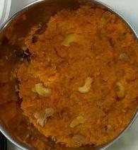 ಗಜ್ಜರಿ ಹಲ್ವಾ, carrot halva