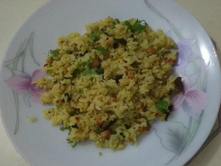 ಮಾವಿನ ಕಾಯಿ ಚಿತ್ರಾನ್ನ, mango chitranna